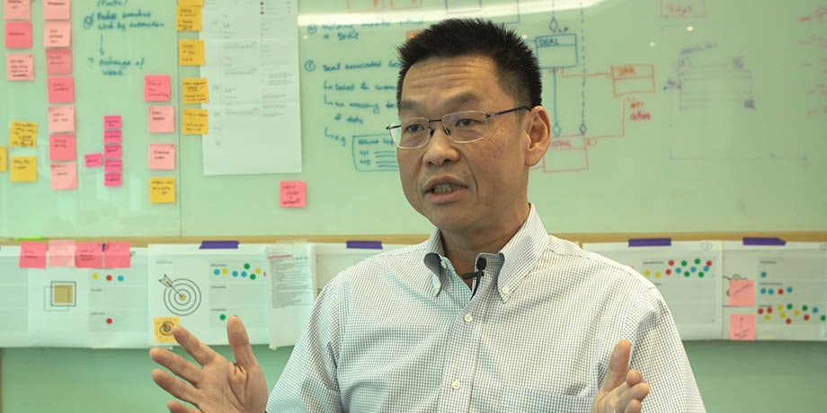 Yeoh Keat Chuan of Temasek's Enterprise Development Group